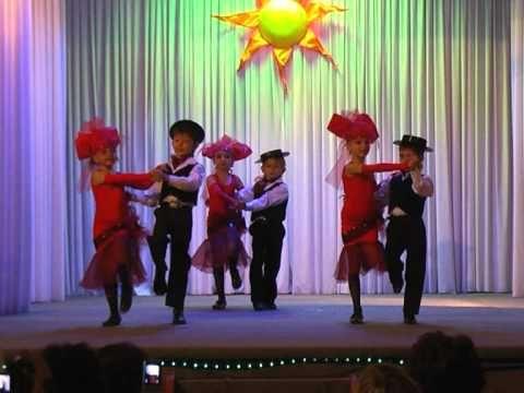 "детский танец ""танго"" - YouTube"