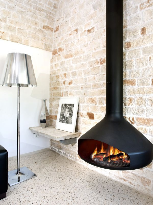 cheminee #focusfireplace #suspendue #suspended #architecture #moderne ...