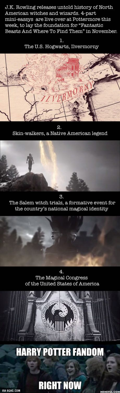 J.K. Rowling Introduces The History Of Magic In North America In New 4-Part Series