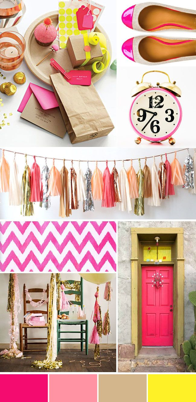 Color Crush: Neon +Metallic - The Collection Event Studio - The Collection - A Wine Country Wedding & Event Studio Showcasing a Curated Collection of Vendors & Venues