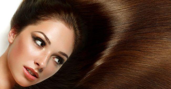 Olio di ricino per i capelli secchi