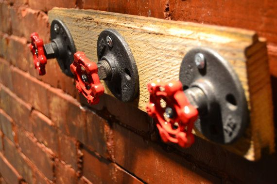 Hey, I found this really awesome Etsy listing at https://www.etsy.com/listing/171854235/industrial-wall-hook-with-reclaimed-wood