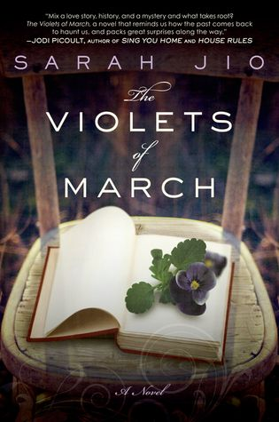 The Violets of March by Sarah Jio. Read in April 2012. The story is set on Bainbridge Island near Seattle, which is one of my favorite places to visit.