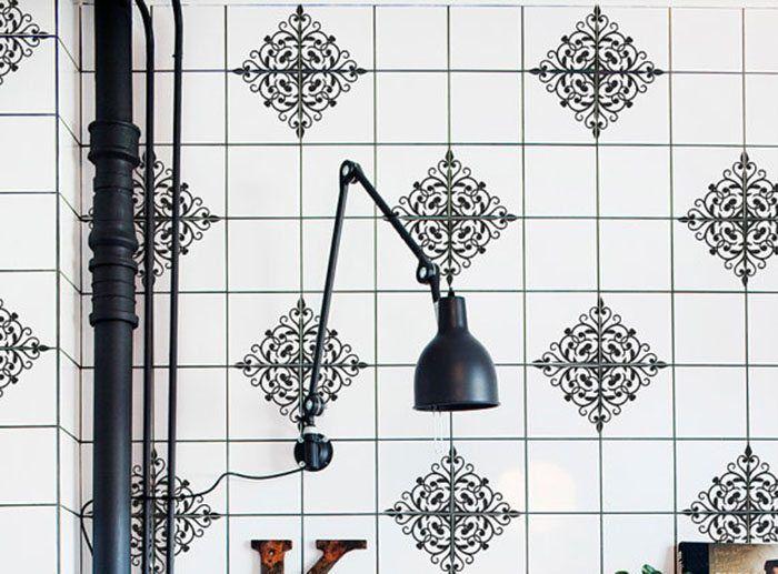 Decorar la cocina y el baño con vinilos para azulejos