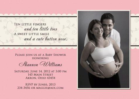 27 best baby shower invites images on pinterest | baby shower, Baby shower invitations