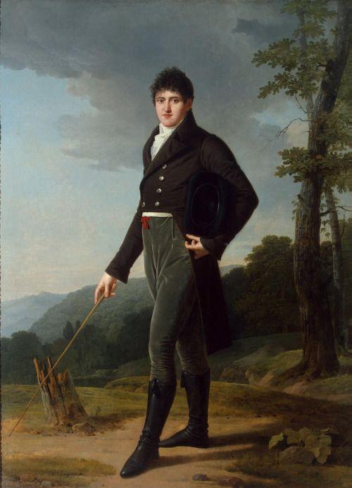 1804 Robert Lefevre - Portrait of Count Andrey Bezborodko