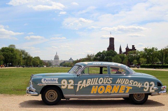 """Original """"Fabulous Hudson Hornet"""" NASCAR racer to be added to National Historic Vehicle Register"""