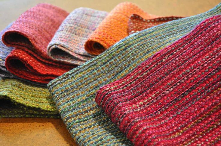 Andrea Lawrence handwoven scarves