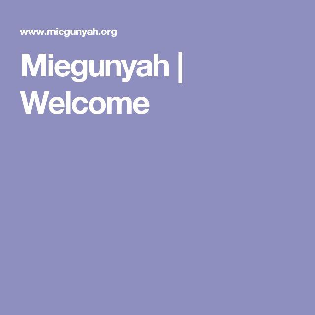 Miegunyah   Welcome