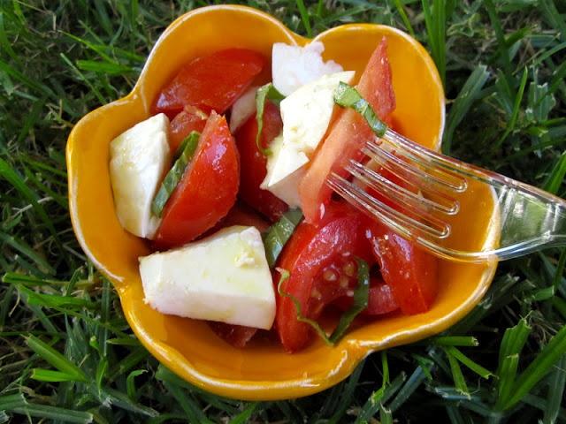 Christinas Cucina: Insalata Caprese or Tomato, Basil, and Mozzarella Salad. Send to school in a small, sealed container or thermos.