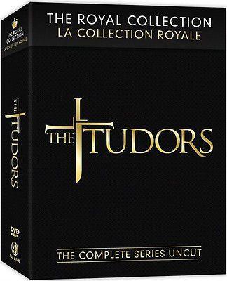 The Tudors: The Royal Collection (DVD, 2010, 13-Disc Set) UNCUT VERSION !!!