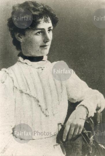 Vida Goldstein, Australian feminist and suffragette (1869-1949) from Victoria. 27 October 1899. Source: Fairfax. Via: @FairfaxPhotos