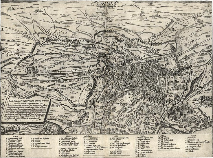 Best Maps Of Rome And Vatican City Images On Pinterest - Maps of us and rome