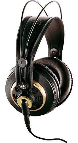 5. AKG K 240 Semi-Open Studio Headphones