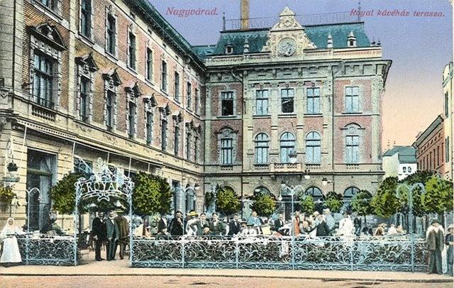 Oradea - Terasa Royal - antebelica
