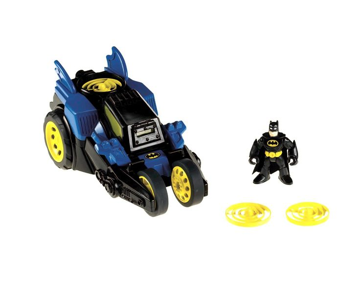 DC Comics Motorized Batmobile, Toy Cars