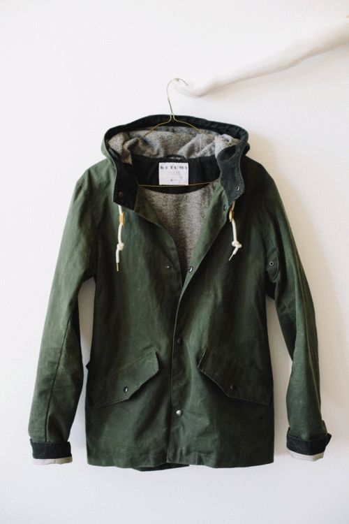 Waxed Cotton Jacket By Ketums. Scottish Waxed Cotton, Handmade In Oakland, California.