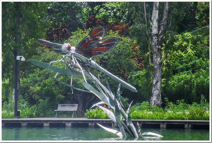 Dragonfly Sculptures, Marina Bay Gardens, Singapore