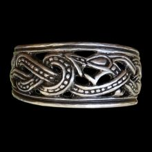 Dragon Ring - Original Viking Age Jewelry