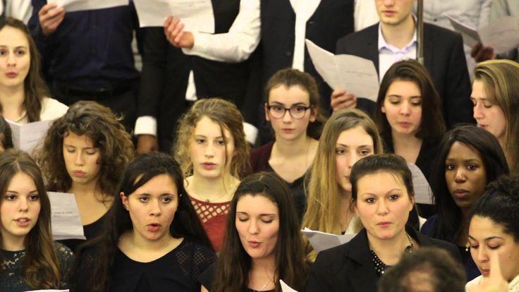 """""""Si la mer se déchaine"""" chorale de jeunes de la Mission Timothée"""