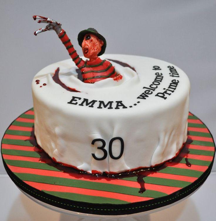 Freddy Krueger Cake Ideas