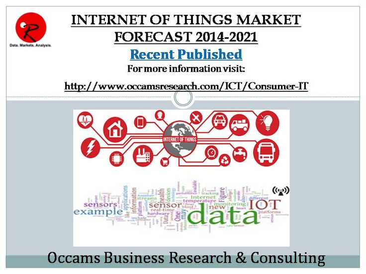 Published New Report Internet of Things Market Forecast 2014-2021 More Information Visit  http://www.occamsresearch.com/executive-summary/Global-Internet-Of-Things-Market-By-Applications---Technologies--Consu