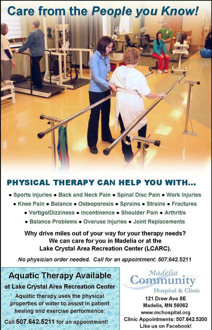 Who needs physical therapy - Physical Therapy Ad Including Aquatic Therapy At Lcarc Mchospital Physicaltherapy Advertisements For Mchc Pinterest Physical Therapy