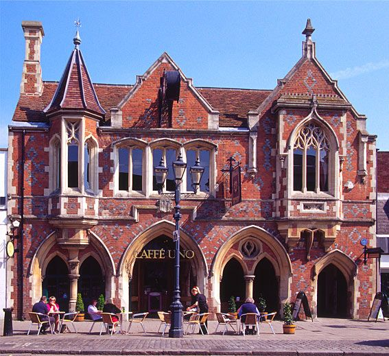 Old Town Hall, Berkhamsted  I went to school in Berkhamsted...