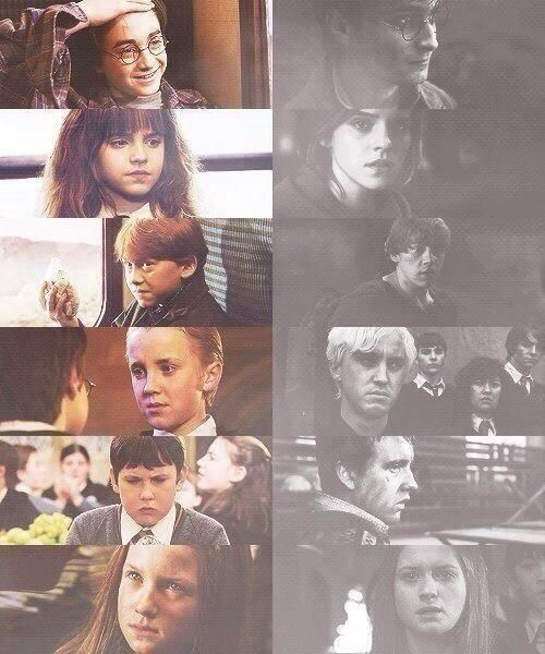 Harry Potter. Beginning and end.