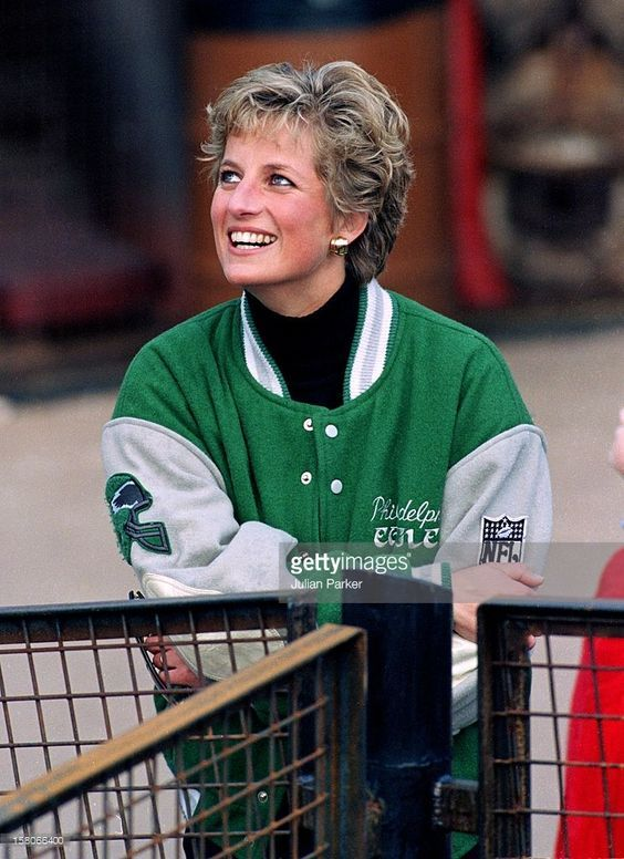 April 17, 1994: Princess Diana at Alton Towers Theme Park, Staffordshire, West Midlands.