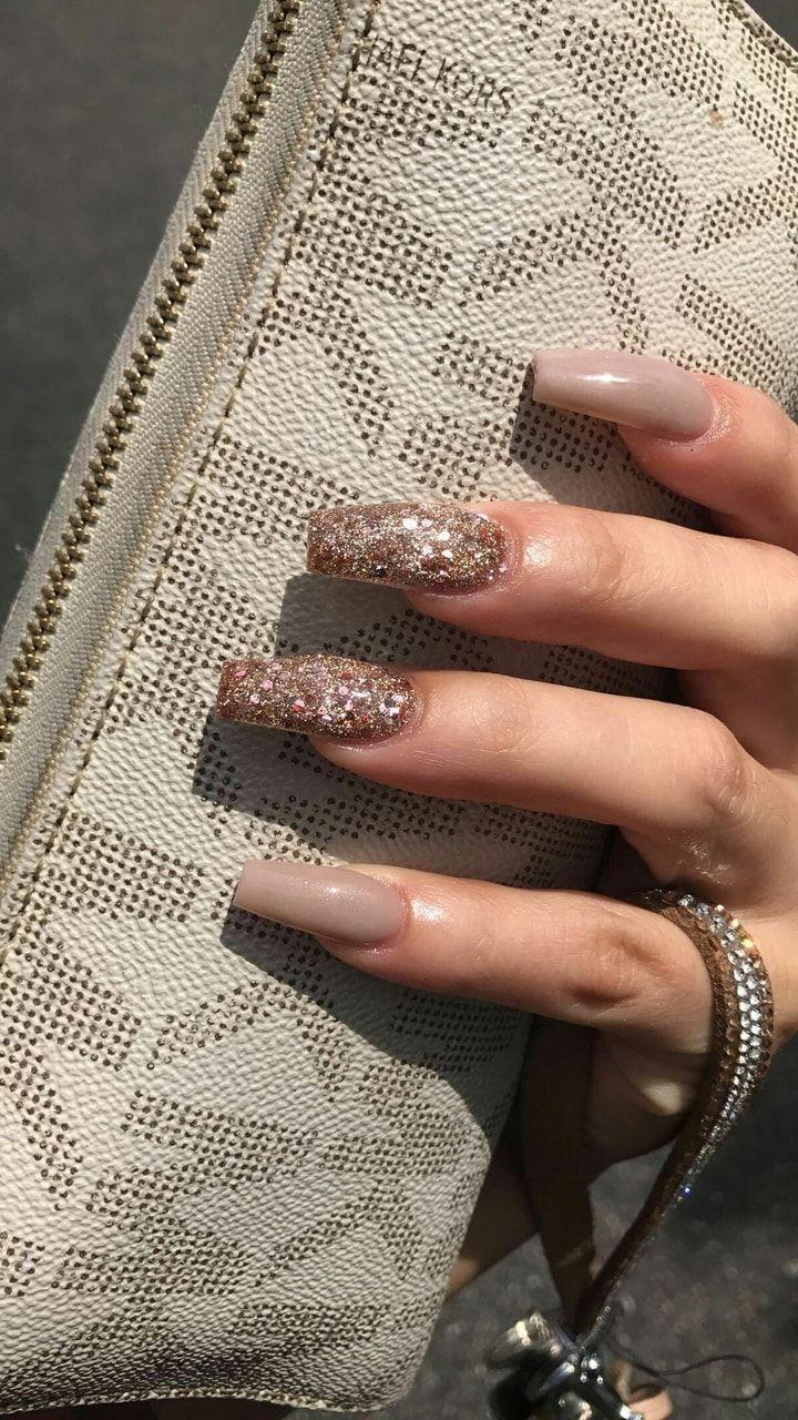 Pinterest Fam0usc Tan Nails Gorgeous Nails Cute Nails