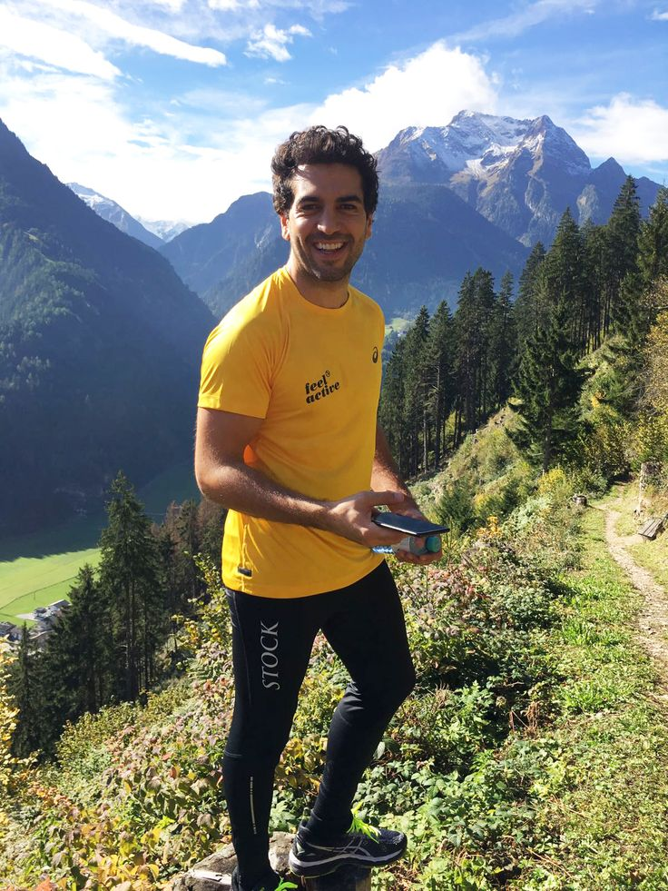 #elyas #m'barek is sporty @stockresort with #asics sportswear