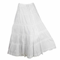 17 Best images about White Summer Skirts on Pinterest | Maxi ...