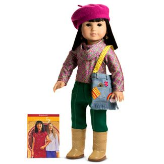 asian american girl doll ivy ling meet