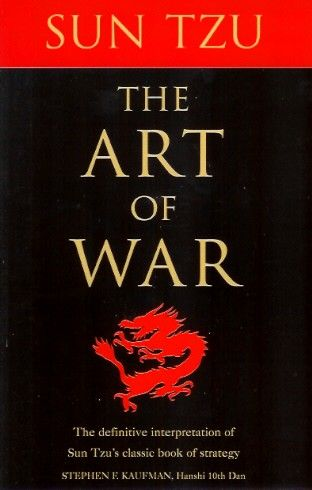 The Art Of War - Sun Tzu.   3 out of 4 stars.   Read in April 2013.  I had a hard time getting into it.