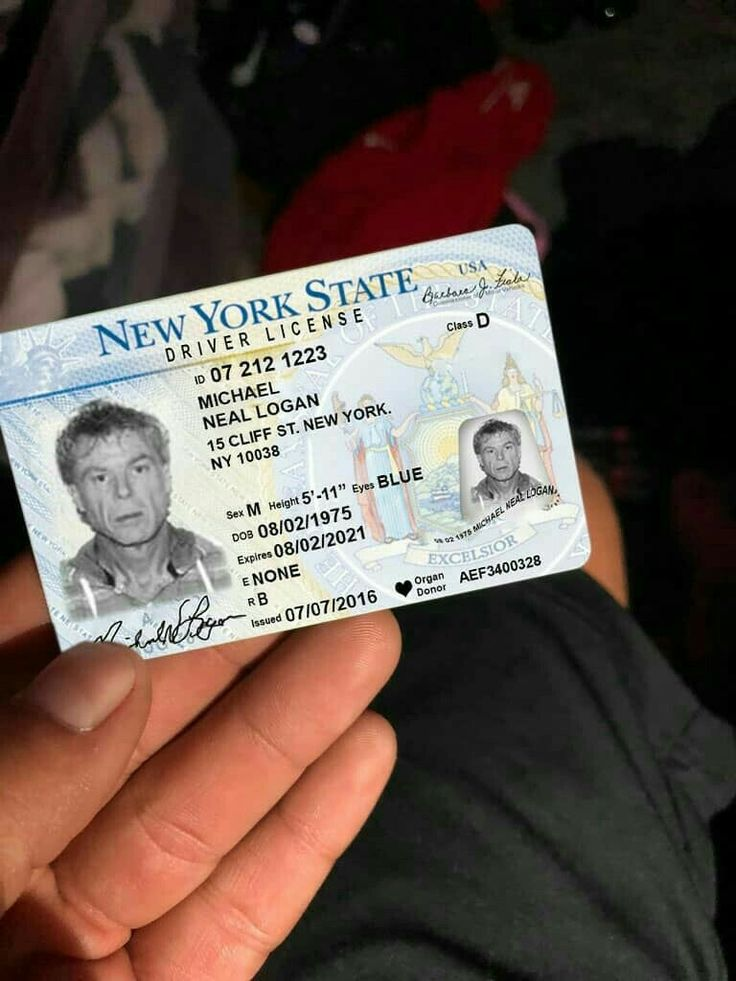 Pin by samuel bender on documents drivers license