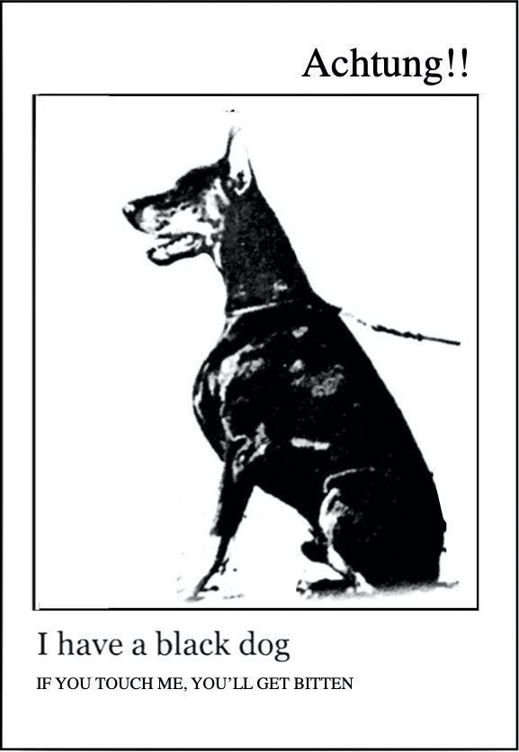 Black Dog Tattoo Sl Di 2020 Anjing