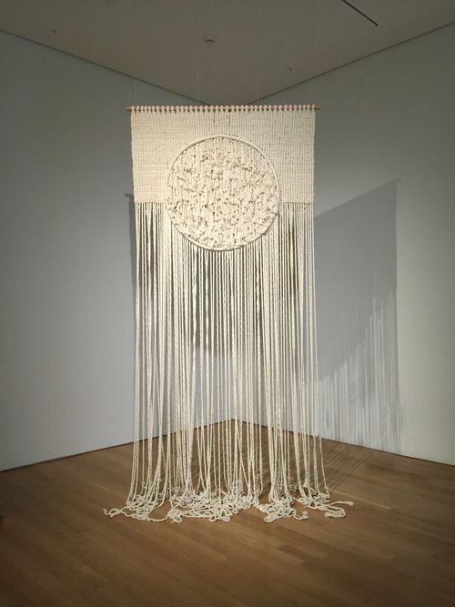 Current Work - Sally England Custom Macrame and Fiber Art