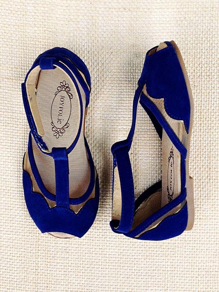 Kids Blue Suede Sandals ::: ASU-BEEBE ::: www.ASUB.edu ::: @ASUBeebe ::: #ASUBeebe ::: #ProudToBeBlue