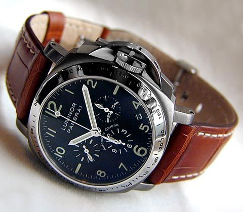 Panerai Luminor (PAM 74) - 40mm Automatic Chronograph ($8,100)