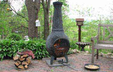 41 best Modern Chiminea for Outdoor images on Pinterest ... on Backyard Chiminea Ideas id=66701