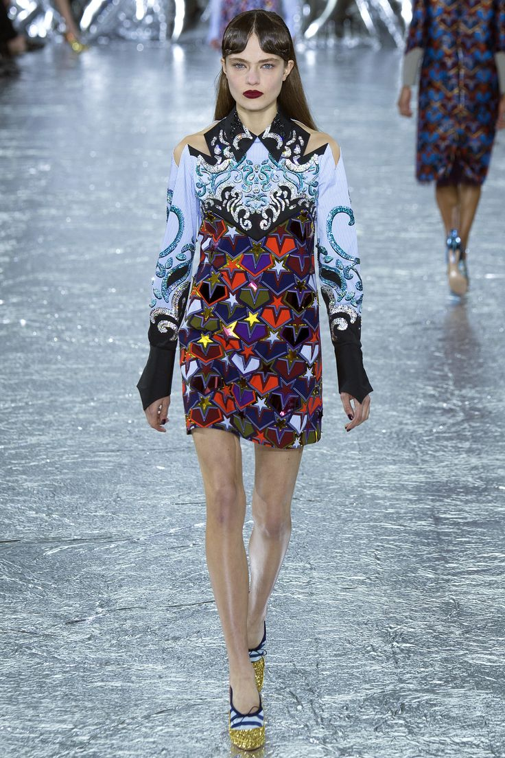 Mary Katrantzou Fall 2016 Ready-to-Wear Fashion Show