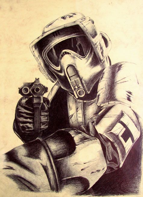 Scout trooper by ripley23.deviantart.com on @DeviantArt