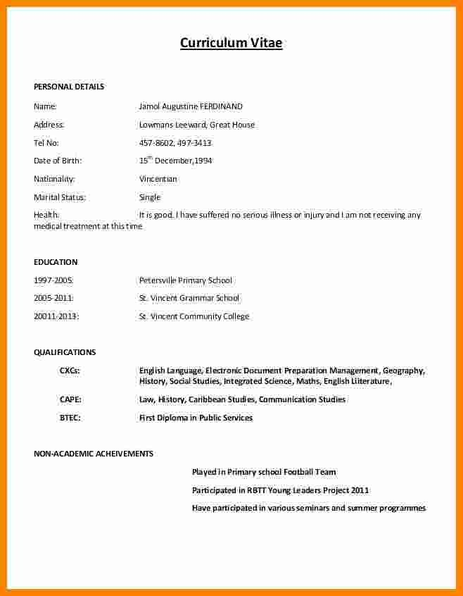 Cool Copy Of Cv Template Pictures Resume Format Resume Format