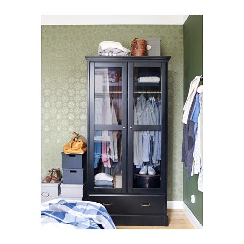 For the foyer: UNDREDAL Wardrobe from IKEA