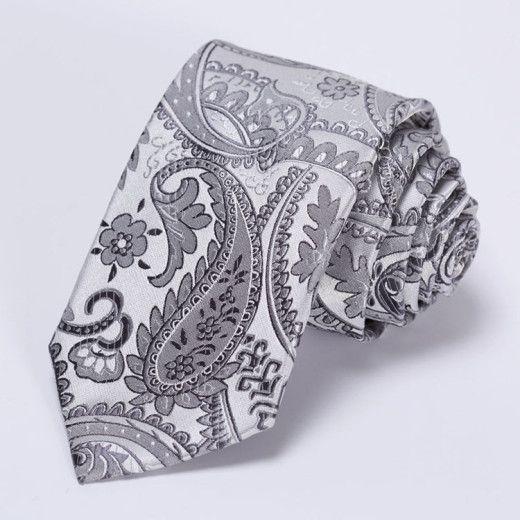 Luxusná pánska sada - viazanka s vreckovkou - vzor 14
