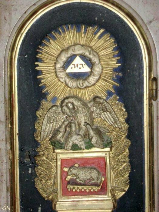 Église Saint-Germain-d'Auxerre de Bligny-sur-Ouche. Côte d'Or