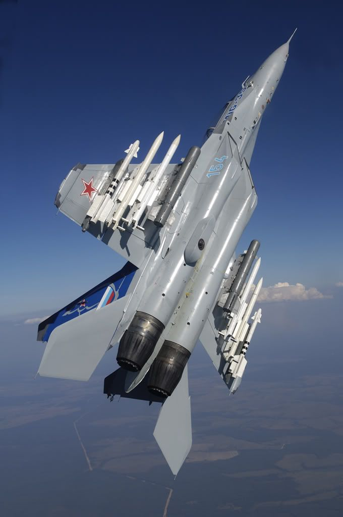 Russian Military Aircraft (MiG-27 and payload)
