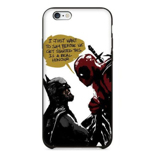 Coque Iphone C Deadpool