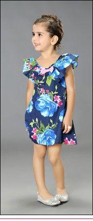 Varejo Hot Sale 2015 New chegam crianças roupas de verão do bebê meninas usam roupas presente da menina vestido crianças condoer cinto bowknot 1038# em Vestidos de Roupas & acessórios no AliExpress.com | Alibaba Group